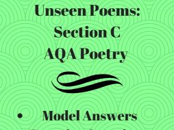 GCSE Unseen Poems: A* Model Answers & Revision Questions