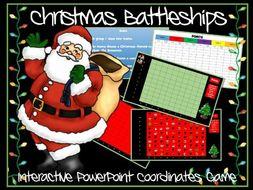 Christmas Maths Battleships Game