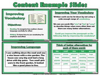 Improving Vocabulary (PowerPoint)