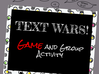 Drivers Ed: Text Wars- The Dangers of Texting and Driving