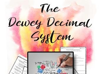 Dewey Decimal System Nonfiction Close Reading Activity