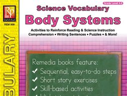 Human Body: Science Vocabulary