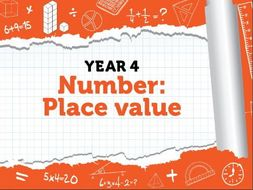 Year 4 - Place Value - Week 1 - Roman Numerals, Rounding to 10 and 100