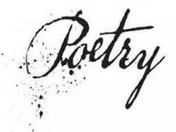 Poetry Program of Study using Australian Life Skills Outcomes