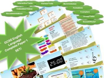 AQA 8700/1 -GCSE Fiction - Complete Paper 1 Mega Set