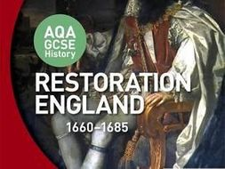 All Course Notes for Restoration England, 1660-1685 (AQA GCSE History)