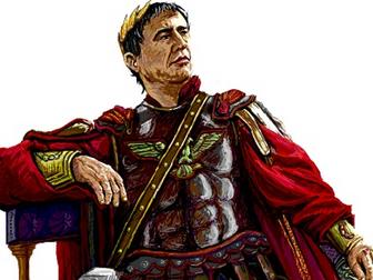 A Level: (14) Julius Caesar By William Shakespeare - Act 5 Scene 1