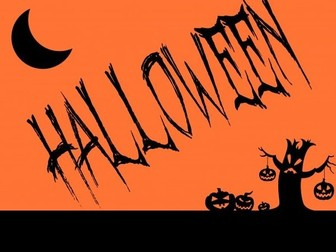 Functional Skills Writing: Entry Level 1 - Halloween
