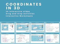3D Coordinates - GCSE