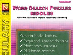 Word Search Puzzles: Riddles