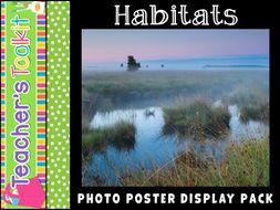Habitats | Photo Posters | Reference | Display