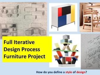 Ikea Full Furniture Iterative Design Process Project