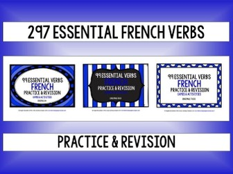 FRENCH VERBS PRACTICE & REVISION 297 VERBS