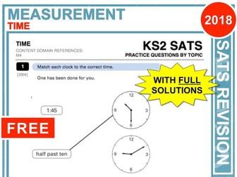 KS2 Maths (Time)