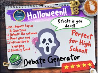 Halloween: Halloween Debate