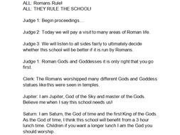 Roman Class Assembly Script