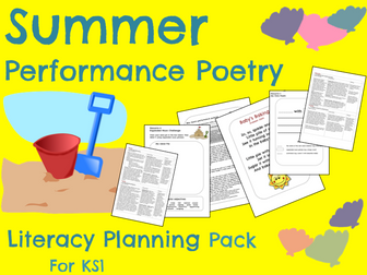 Summer Poetry Planning