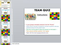 Cambridge National Sport Studies- Team quiz grid/revision- 95 questions- R051- Contemporary issues
