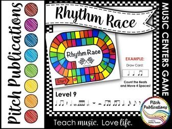 Music Centers: Rhythm Race Counting Edition Level 9 - Rhythm Game