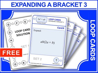 Expanding a Bracket 3 (Loop Cards)
