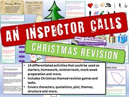 An Inspector Calls Christmas Revision