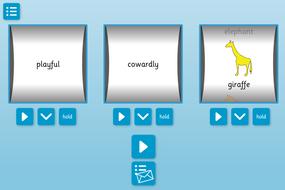 Animal Story Spinner - Literacy KS1/KS1
