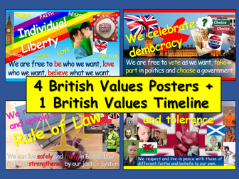 British Values Posters
