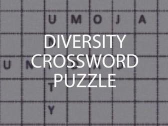 Diversity Crossword Puzzle (UK)