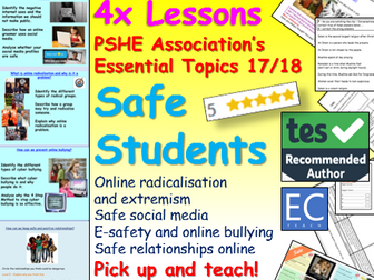 PSHE Safety - Tutor Time Activities