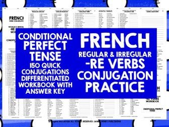 FRENCH -RE VERBS CONDITIONAL PERFECT TENSE