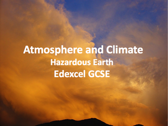 Hazardous Earth - Atmosphere and Climate
