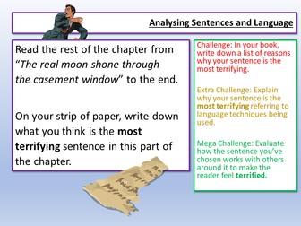AQA English Language Paper 1 Sentences Q2