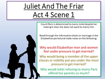 Romeo and Juliet The Friar's Plan