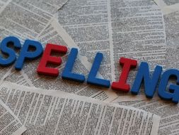 Whole School Spelling List With 9 Phases + A Spelling Test Template