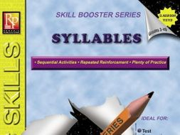 Syllables: Skill Booster Series