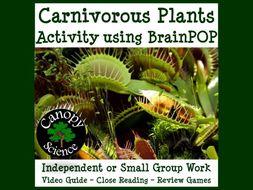 Carnivorous Plants Activity using BrainPOP