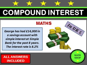 GCSE Revision Simple and Compound Interest