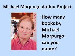 Michael Morpurgo Author Project