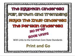 Cinderella Bundle 1: Egyptian; Fair, Brown and Trembling; Naya: The Inuit Cinderella & Persian Cinderella