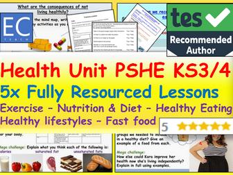 PSHE: Health Unit