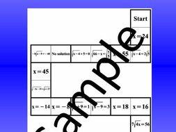 Radical Equations 1 – Math Puzzle