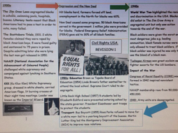 USA 1929- 2000 revision help sheets