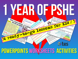KS4 /  KS5 PSHE Curriculum