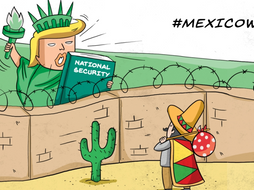 Key Stage 3 Potion Illegal Migration Mexico To Usa President Trump S Wall By Reallygoodgeography Teaching Resources Tes