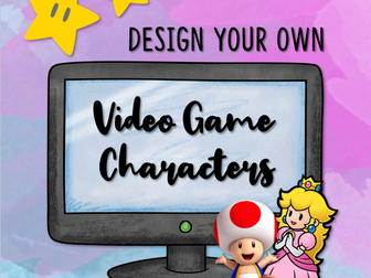 Design Your Own Video Game Character