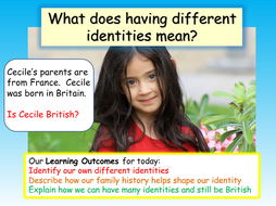 Celebrating Differences - Identity