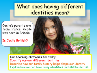 British Values : Identity