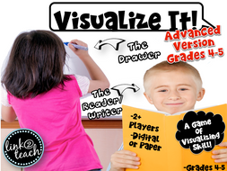 Visualize It! Game for Practicing Visualizing