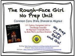 """No Prep Book Unit for """"The Rough-Face Girl"""""""