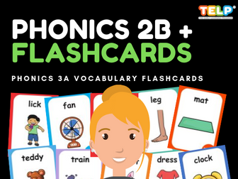 Phonics 2B FLASHCARDS